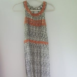 NWT Stitch Fix THML Jameson Embroidered Maxi Dress